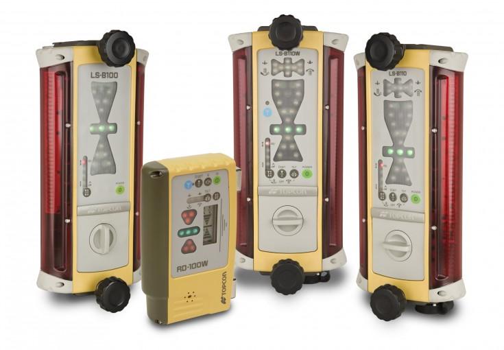 Topcon lāzera kontroles sistēma