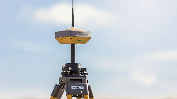 HiPer VR - Topcon jaunākais GNSS uztvērējs