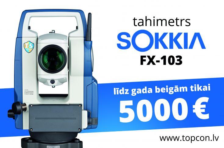 SOKKIA FX tahimetra akcija
