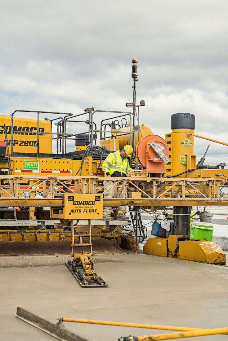 Topcon jaunākā betona ieklājēja sistēma ZPS