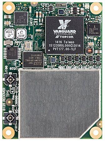 Topcon jaunākās GNSS uztvērēja plates ar paplašinātu signālu uztveršanu