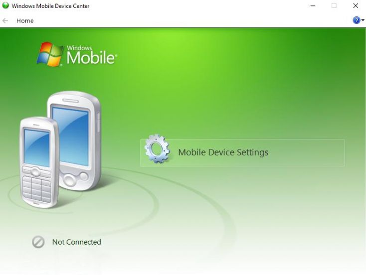 Windows Mobile Device Center - Windows 10
