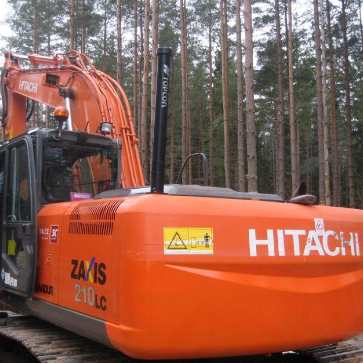 Hitachi ekskavators 210LC