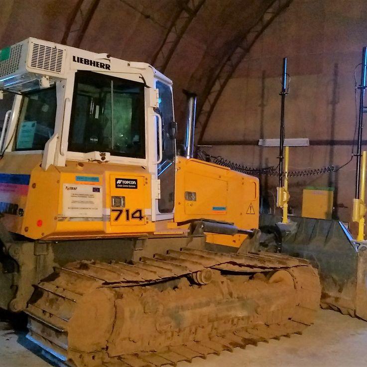 Liebherr buldozers 714