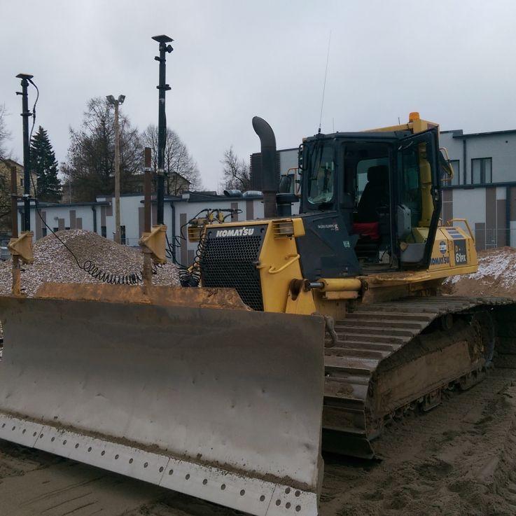 3D Komatsu buldozers 61px